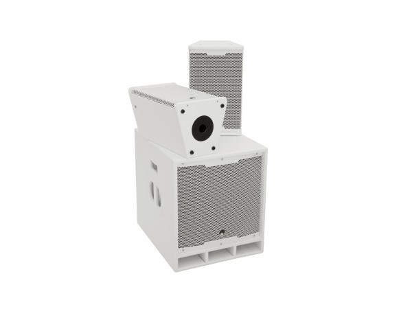 OMNITRONIC MAXX-1508DSP 2.1 Aktiv-System weiß // OMNITRONIC MAXX-1508DSP 2.1 Active System white1