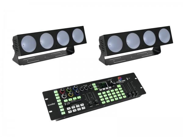 EUROLITE Set 2x LED CBB-4 + DMX LED Color Chief Controller // EUROLITE Set 2x LED CBB-4 + DMX LED Color Chief Controller1
