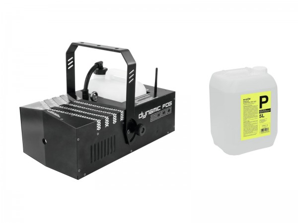 EUROLITE Set Dynamic Fog 2000 + Smoke Fluid -P2D- 5l // EUROLITE Set Dynamic Fog 2000 + Smoke fluid -P2D- 5l1