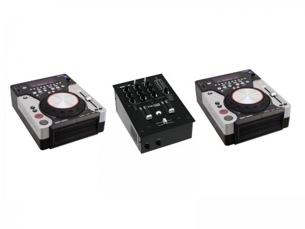 OMNITRONIC Set PM-222 + 2x XMT-1400 // OMNITRONIC Set PM-222 + 2x XMT-14001