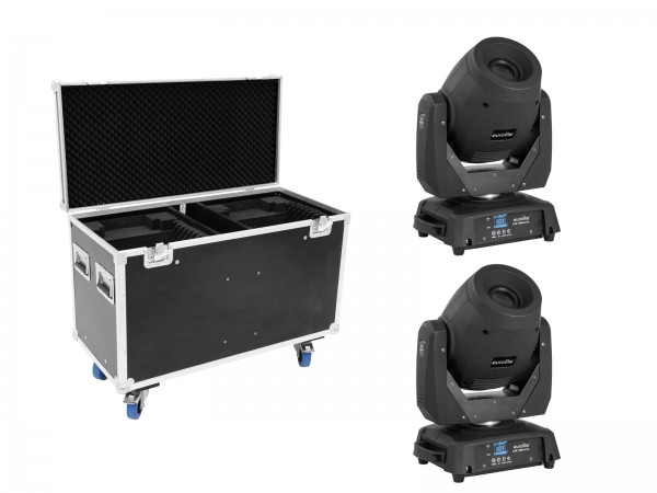 EUROLITE Set 2x LED TMH-X12 + EU Case // EUROLITE Set 2x LED TMH-X12 + EU Case1