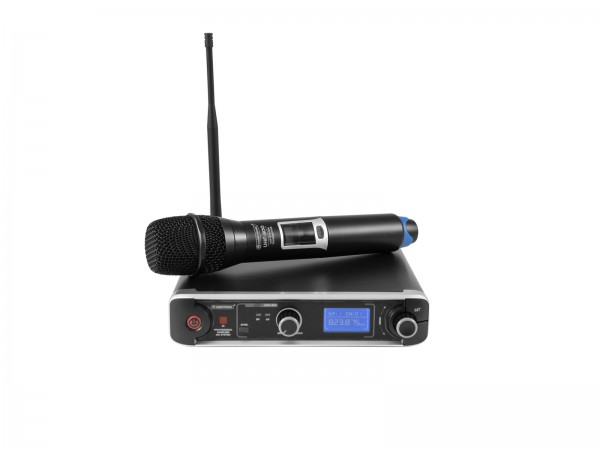 OMNITRONIC UHF-301 1-Kanal-Funkmikrofonsystem 823-832/863-865MHz // OMNITRONIC UHF-301 1-Channel Wireless Mic System 823-832/863-865MHz1