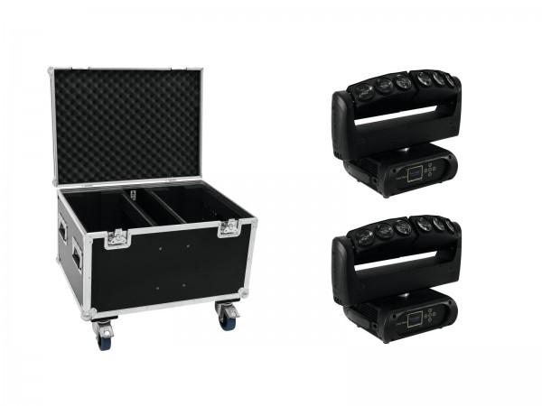 FUTURELIGHT Set 2x Color Wave LED-Moving-Leiste + Case // FUTURELIGHT Set 2x Color Wave LED Moving Bar + Case1