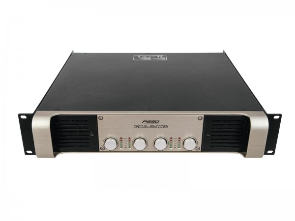 PSSO QCA-6400 4-Kanal-Endstufe SMPS // PSSO QCA-6400 4-Channel SMPS Amplifier1