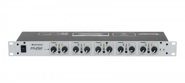 OMNITRONIC ZD-250 Zonen-Verteiler // OMNITRONIC ZD-250 Zone Distributor1
