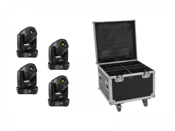 EUROLITE Set 4x LED TMH-S90 + Case // EUROLITE Set 4x LED TMH-S90 + Case1