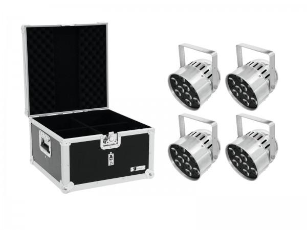 EUROLITE Set 4x LED PAR-56 HCL Short sil + EPS Case // EUROLITE Set 4x LED PAR-56 HCL Short sil + EPS Case1