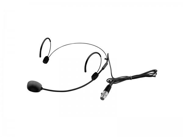 OMNITRONIC UHF-300 Kopfbügelmikrofon schwarz // OMNITRONIC UHF-300 Headset Microphone black1