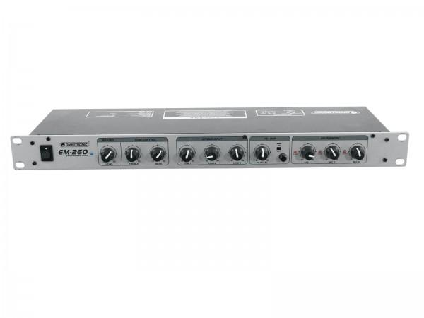 OMNITRONIC EM-260 Entertainment-Mixer // OMNITRONIC EM-260 Entertainment Mixer1
