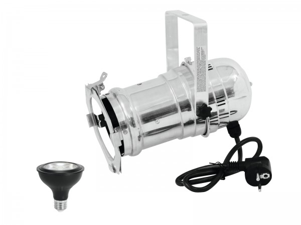 EUROLITE Set PAR-30 Spot sil+ PAR-30 230V COB 12W E-27 LED 1800-3000K dim2warm // EUROLITE Set PAR-30 Spot sil+ PAR-30 230V COB 12W E-27 LED 1800-3000K dim2warm1