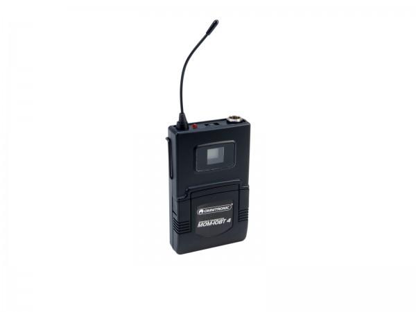 OMNITRONIC MOM-10BT4 Taschensender // OMNITRONIC MOM-10BT4 Bodypack Transmitter1