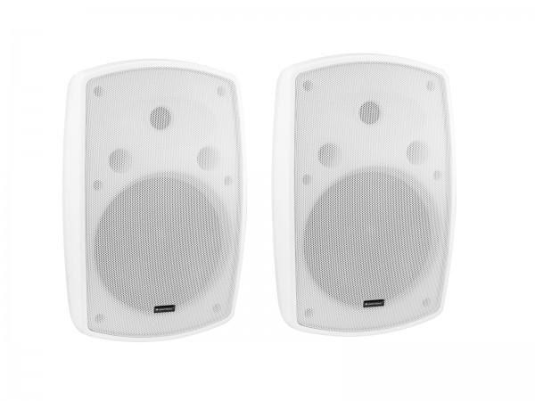 OMNITRONIC OD-8 Wandlautsprecher 8Ohm weiß 2x // OMNITRONIC OD-8 Wall Speaker 8Ohm white 2x1