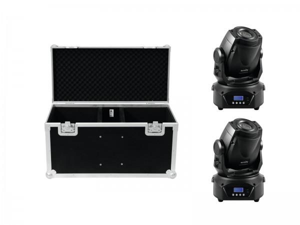 EUROLITE Set 2x LED TMH-60 MK2 + Case // EUROLITE Set 2x LED TMH-60 MK2 + Case1