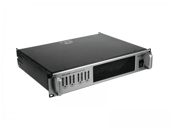 OMNITRONIC MCD-4008 8-Kanal-Endstufe // OMNITRONIC MCD-4008 8-Channel Amplifier1