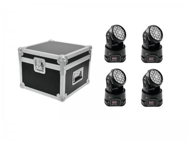 EUROLITE Set 4x LED TMH-7 + Case // EUROLITE Set 4x LED TMH-7 + Case1