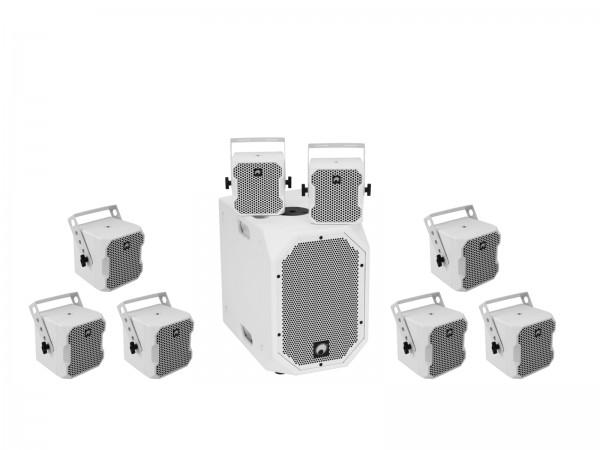 OMNITRONIC Set BOB-10A ws + 8x BOB-4 ws // OMNITRONIC Set BOB-10A wh + 8x BOB-4 wh1