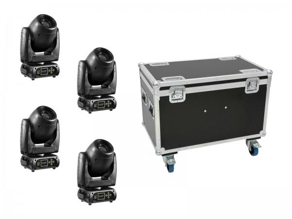 EUROLITE Set 4x DMH-80 LED Spot + Case // EUROLITE Set 4x DMH-80 LED Spot + Case1