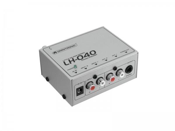 OMNITRONIC LH-040 Phono-Vorverstärker // OMNITRONIC LH-040 Phono Preamplifier1