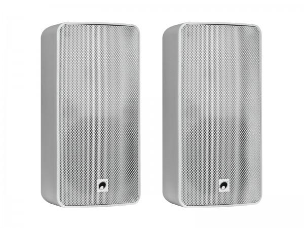 OMNITRONIC ODP-206 Installationslautsprecher 16 Ohm weiß 2x // OMNITRONIC ODP-206 Installation Speaker 16 ohms white 2x1