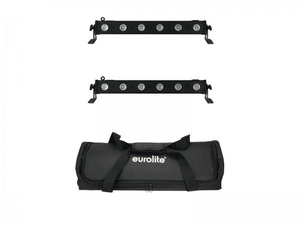 EUROLITE Set 2x LED BAR-6 QCL RGBA + Soft Bag // EUROLITE Set 2x LED BAR-6 QCL RGBA + Soft Bag1