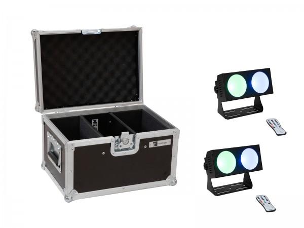 EUROLITE Set 2x LED CBB-2 COB RGB Leiste + Case // EUROLITE Set 2x LED CBB-2 COB RGB Bar + Case1