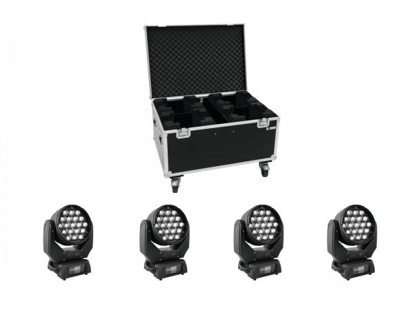 EUROLITE Set 4x LED TMH-X5 + Case // EUROLITE Set 4x LED TMH-X5 + Case1