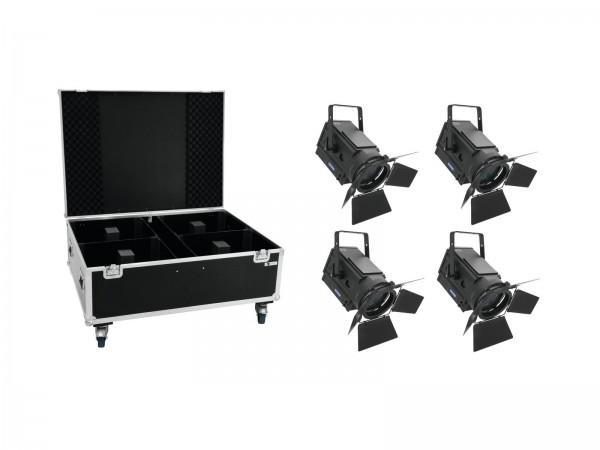 EUROLITE Set 4x LED THA-250F + Case // EUROLITE Set 4x LED THA-250F + Case1