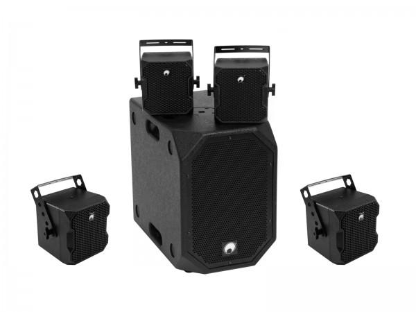 OMNITRONIC Set BOB-10A sw + 4x BOB-4 sw // OMNITRONIC Set BOB-10A bk + 4x BOB-4 bk1
