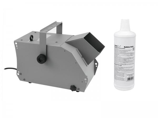 EUROLITE Set BW-100 Seifenblasenmaschine + Seifenblasenfluid 1l // EUROLITE Set BW-100 Bubble machine + bubble fluid 1l1