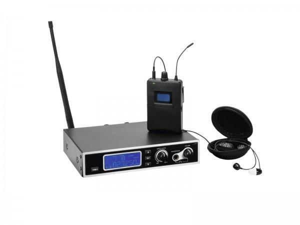 OMNITRONIC IEM-1000 In-Ear-Monitoring-Set // OMNITRONIC IEM-1000 In-Ear Monitoring Set1
