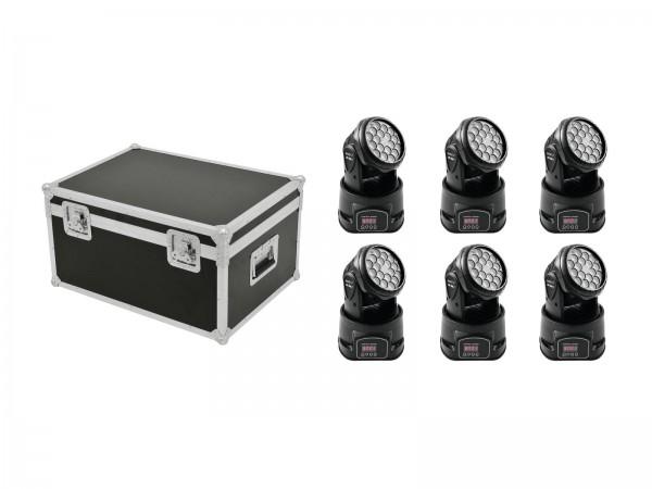 EUROLITE Set 6x LED TMH-7 + Case // EUROLITE Set 6x LED TMH-7 + Case1