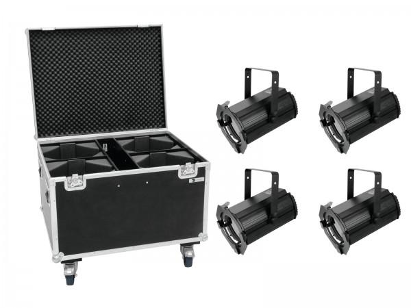 EUROLITE Set 4x LED THA-100F Theater-Spot + Case // EUROLITE Set 4x LED THA-100F Theater-Spot + Case1