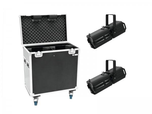 EUROLITE Set 2x LED PFE-120 3000K + Case // EUROLITE Set 2x LED PFE-120 3000K + Case1