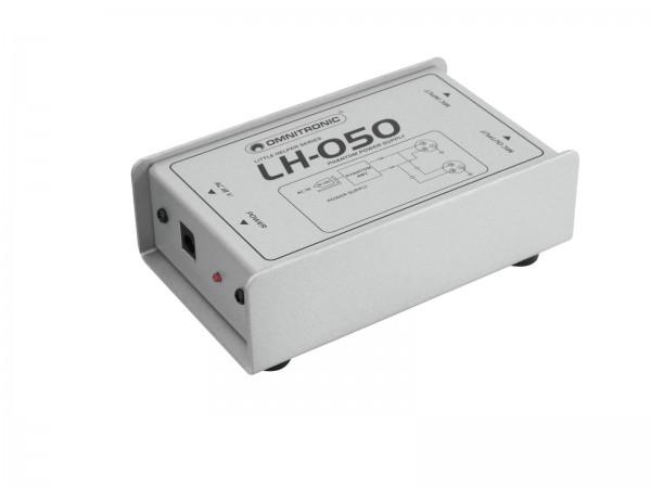 OMNITRONIC LH-050 Phantom-Speiseadapter // OMNITRONIC LH-050 Phantom Power Adapter1