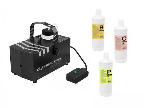 EUROLITE Set Dynamic Fog 600 + Fluide // EUROLITE Set Dynamic Fog 600 + fluids1