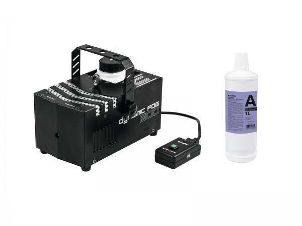 EUROLITE Set Dynamic Fog 600 + Smoke Fluid -A2D- 1l // EUROLITE Set Dynamic Fog 600 + Smoke fluid -A2D- 1l1