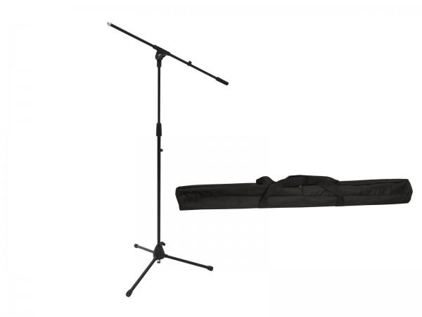 OMNITRONIC Set Mikrofonstativ MS-2 mit Galgen sw + Tasche // OMNITRONIC Set Microphone Tripod MS-2 with Boom bk + Bag1