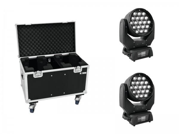 EUROLITE Set 2x LED TMH-X5 + Case // EUROLITE Set 2x LED TMH-X5 + Case1
