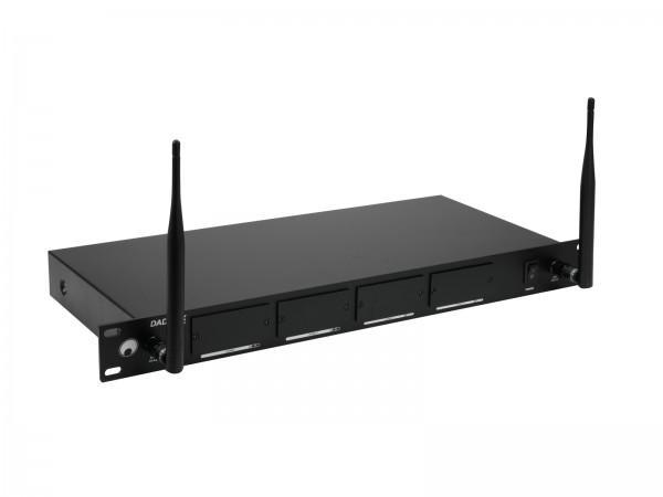 OMNITRONIC DAD-4RX 4-Kanal-Empfängergehäuse für MOM/DAD Module // OMNITRONIC DAD-4RX 4-Channel Receiver Housing for MOM/DAD Modules1