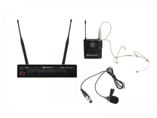 RELACART Set HR-31S Bodypack mit Headset und Lavalier // RELACART Set HR-31S Bodypack with Headset and Lavalier1