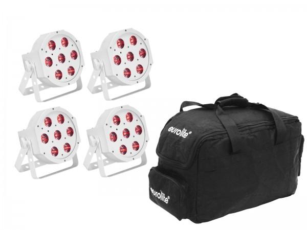EUROLITE Set 4x LED SLS-7 HCL Spot weiß + Soft Bag // EUROLITE Set 5x LED SLS-7 HCL Spot white + Soft Bag1