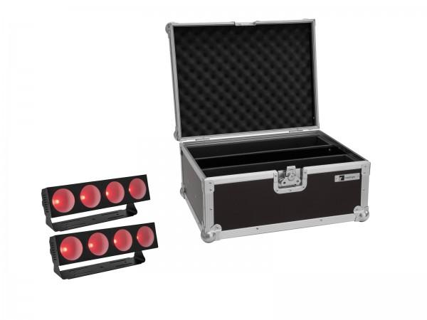 EUROLITE Set 2x LED CBB-4 COB RGB Leiste + Case // EUROLITE Set 2x LED CBB-4 COB RGB Bar + Case1