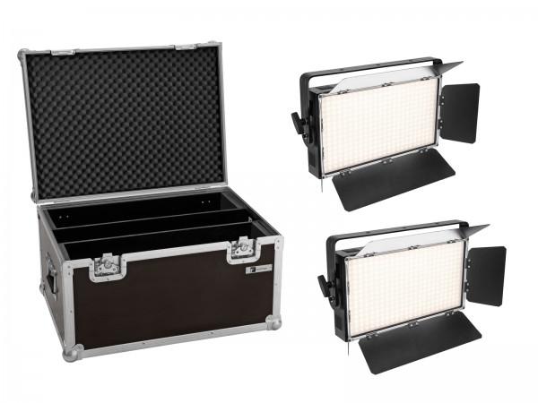 EUROLITE Set 2x LED PLL-360 6000K Panel + Case // EUROLITE Set 2x LED PLL-360 6000K Panel + Case1