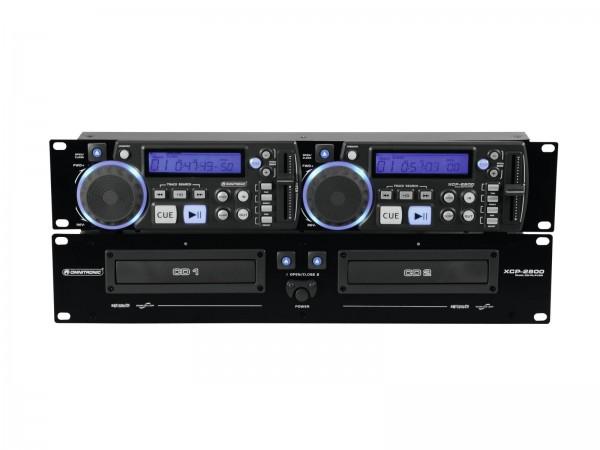 OMNITRONIC XCP-2800 Dual-CD-Player // OMNITRONIC XCP-2800 Dual CD Player1