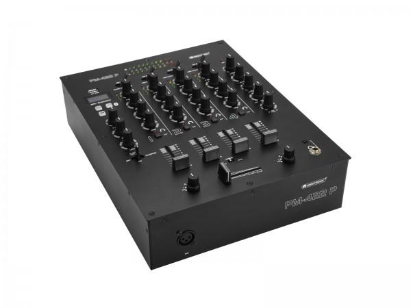 OMNITRONIC PM-422P 4-Kanal-DJ-Mixer mit Bluetooth und USB-Player // OMNITRONIC PM-422P 4-Channel DJ Mixer with Bluetooth & USB Player1