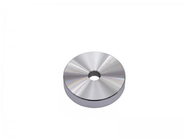 OMNITRONIC Puck Single-Mittelstück Aluminium silber // OMNITRONIC Puck Single Center Piece Aluminum silver1