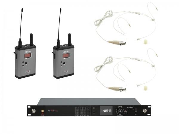 PSSO Set WISE TWO + 2x BP + 2x Headset 638-668MHz // PSSO Set WISE TWO + 2x BP + 2x Headset 638-668MHz1