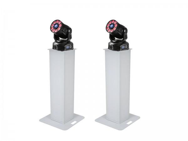 EUROLITE Set 2x Stage Stand 100cm + 2x LED TMH-75 COB // EUROLITE Set 2x Stage Stand 100cm + 2x LED TMH-75 COB1