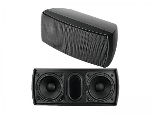 OMNITRONIC OD-22 Wandlautsprecher 8Ohm schwarz // OMNITRONIC OD-22 Wall Speaker 8Ohms black1