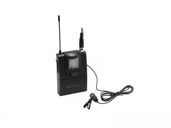 RELACART ET-60 Bodypack mit Lavalier-Mikrofon für WAM-402 // RELACART ET-60 Bodypack with Lavalier Microphone for WAM-4021